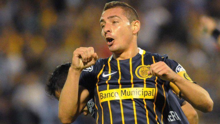 Marco Ruben anotó el gol del triunfo canalla.