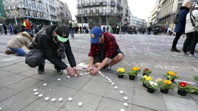Los atentados en Bruselas conmueven a todo Europa.