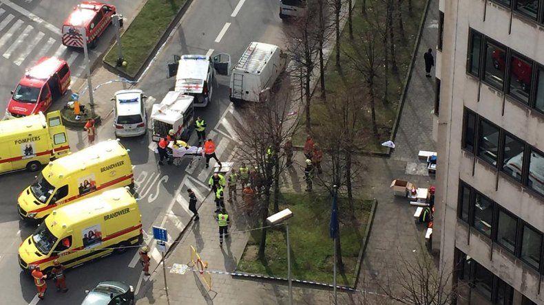 Atentados terroristas sacudieron Bruselas