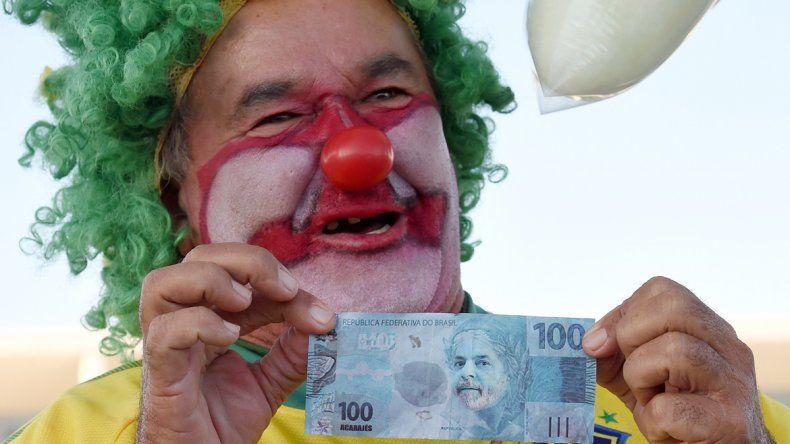 Un Lula trucho de 100 reales