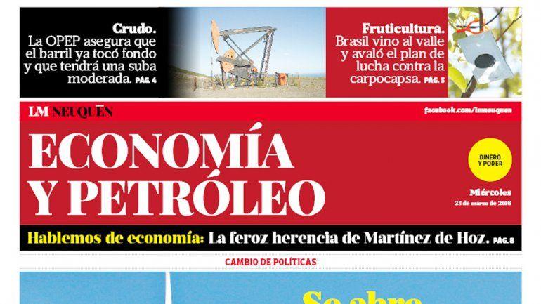 Suplemento Economía y Petroleo.