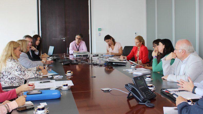El ministro José Brillo participó de la reunión del Ente Patagonia junto con autoridades de Aerolíneas Argentinas.
