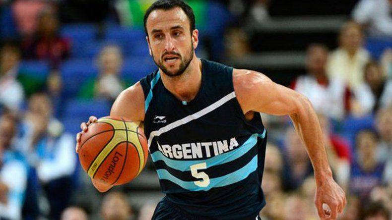 El gran Manu Ginóbili irá a los Juegos Olímpicos