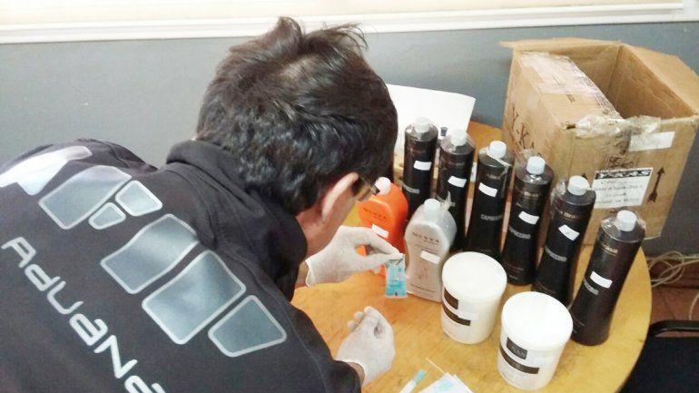 Personal de AFIP-Aduana y posteriormente Gendarmería realizaron las pruebas químicas. El control se llevó a cabo en el paso Pino Hachado.