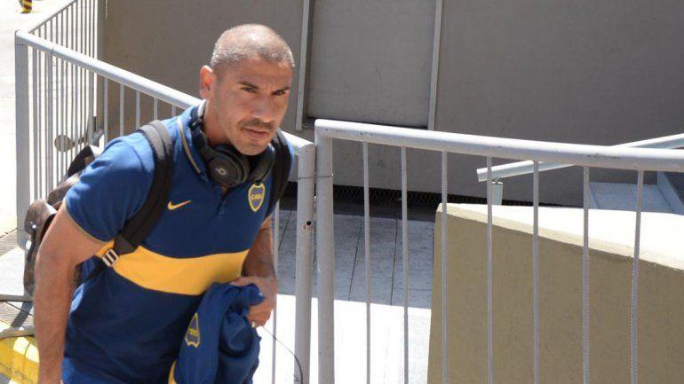 El Cata Díaz se recuperó y está listo para el próximo partido.