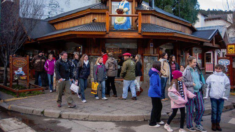Los turistas aprovecharon a pleno el fin de semana largo.