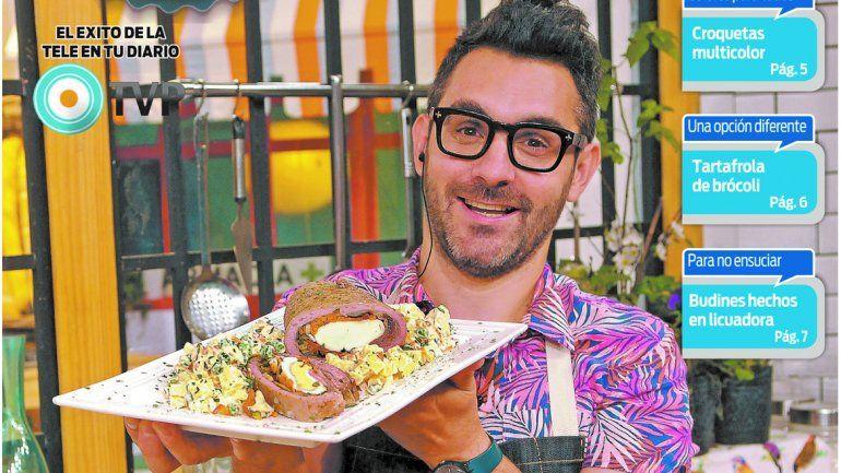 Cocineros Argentinos combate los primeros fríos con sabrosas pastas y carnes