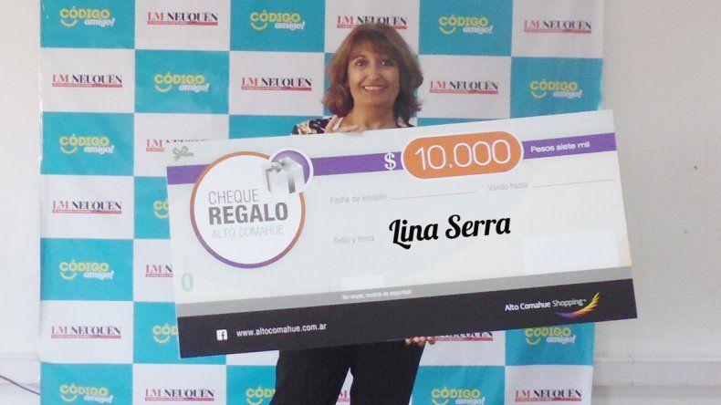 Es la nueva ganadora del premio para disfrutar en el Alto comahue