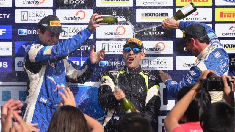 Fue un triunfo especial para Cancio: Fue buenísimo ganar con tanta gente mirando y alentando todo el camino.