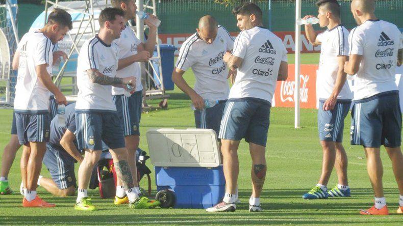 Con Messi a la cabeza