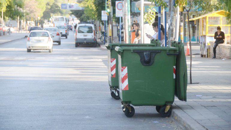 Los contenedores estarán distribuidos en toda la zona del Alto de la ciudad.