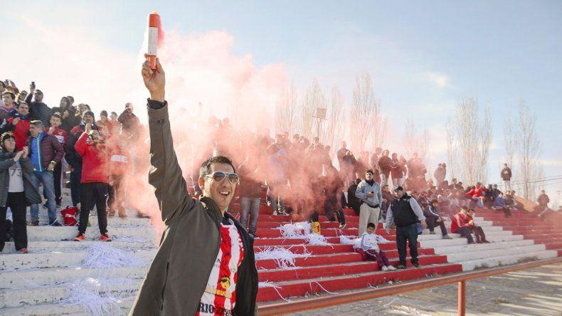 Se espera que más de 3000 personas coparán La Chacra ante Cipolletti.