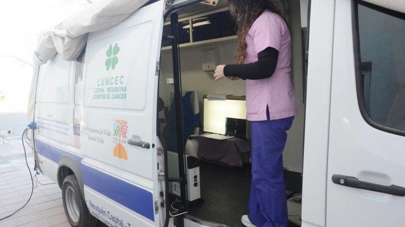 El móvil de Luncec estará desde mañana en el hospital de Junín.