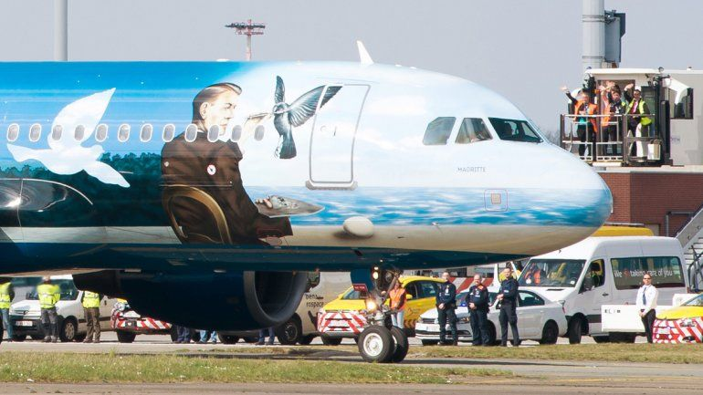 La normalidad volvió al aeropuerto belga tras los atentados.