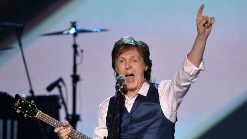 Paul McCartney vuelve al país con tres shows