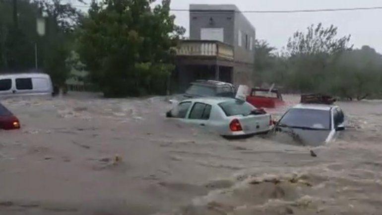 Cientos de evacuados por un fuerte temporal en Entre Ríos
