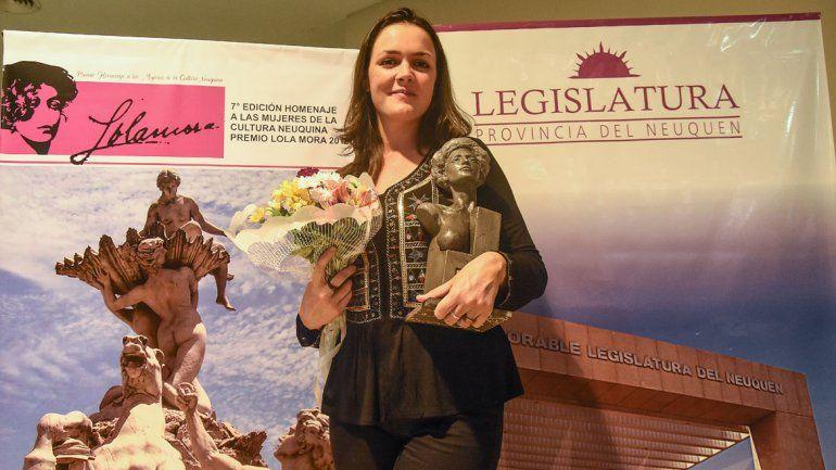 Reportera gráfica de LM Neuquén, premiada con un Lola Mora en artes visuales