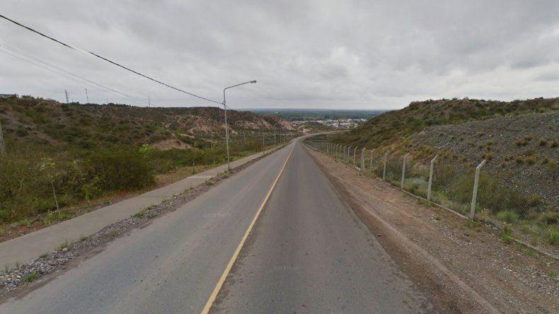 Una joven perdió una pierna al volcar en la bajada de Rincón de Emilio