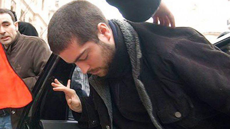 Fontanet se entregó aconsejado por su abogado Marcelo Brito.