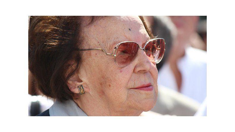 Dolor por la muerte de Chela Sapag