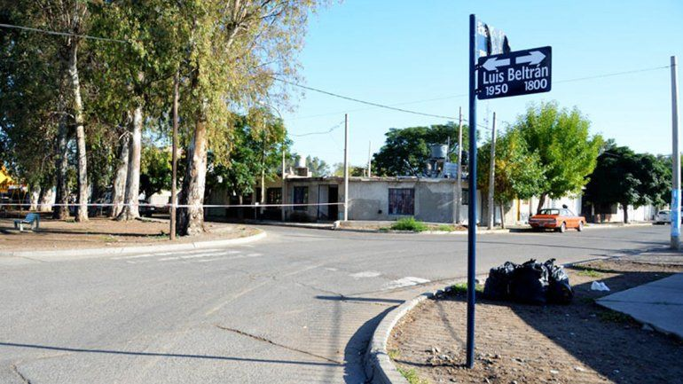 La calle Luis Beltrán seguirá siendo doble mano.