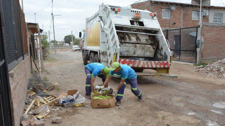 Cuatro barrios ya cuentan con la recolección de residuos