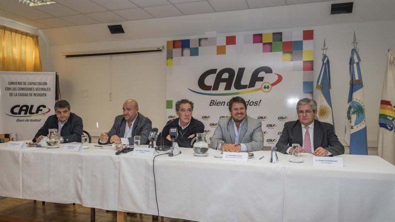 CALF brindará talleres gratuitos en las comisiones vecinales