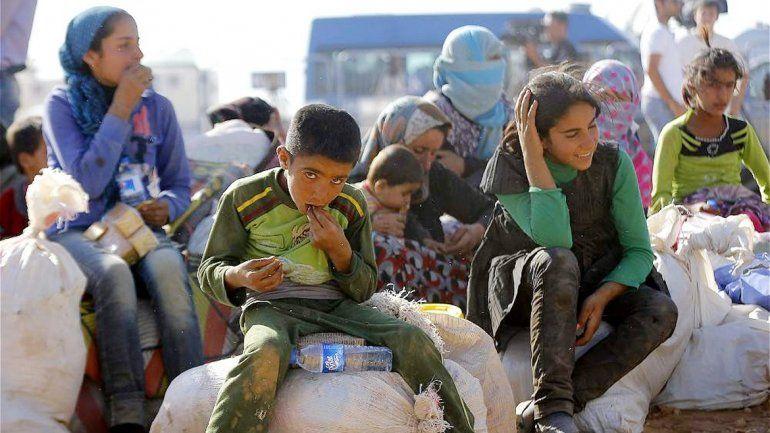 El drama de estas desapariciones involucra a chicos sirios