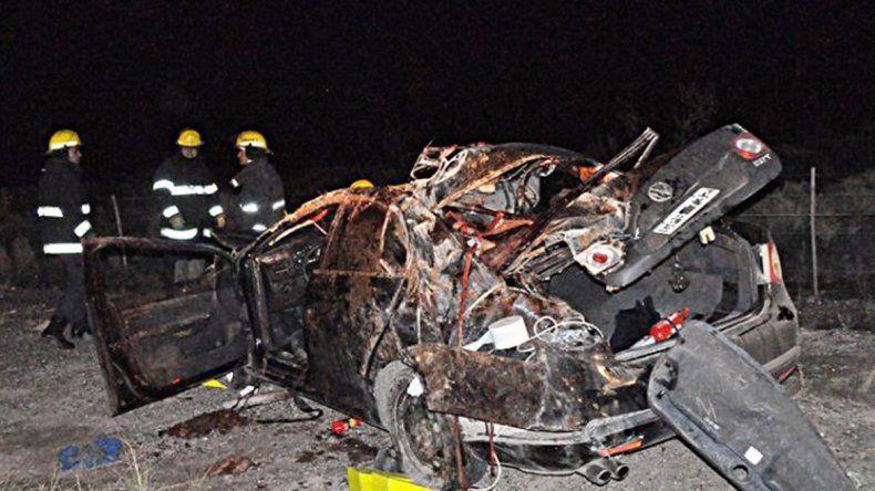 Catriel: una mujer murió al chocar un auto contra un caballo sobre la Ruta 151