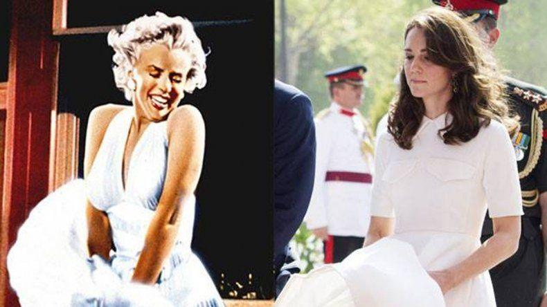 La princesa Kate en un momento incómodo durante las actividades oficiales que desempeñó con su esposo.