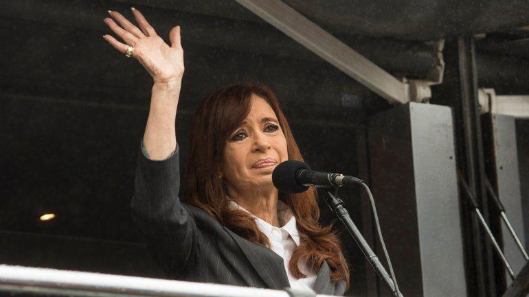 Cristina contraataca desde el Congreso