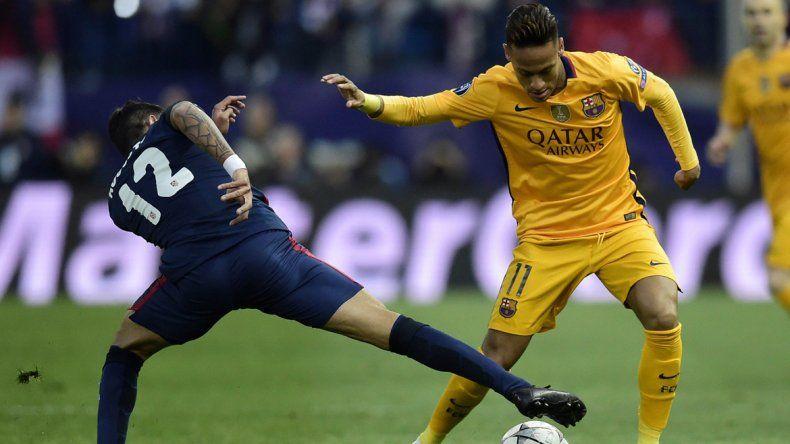 Ganó el Atlético Madrid del Cholo y eliminó al Barcelona