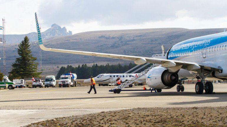 En la temporada invernal se duplicarán los vuelos hacia San Martín.