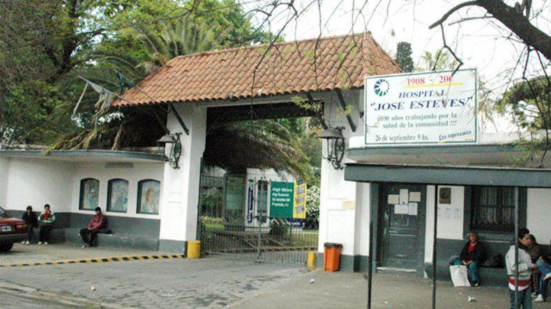 El hospital donde fue atacada una paciente.
