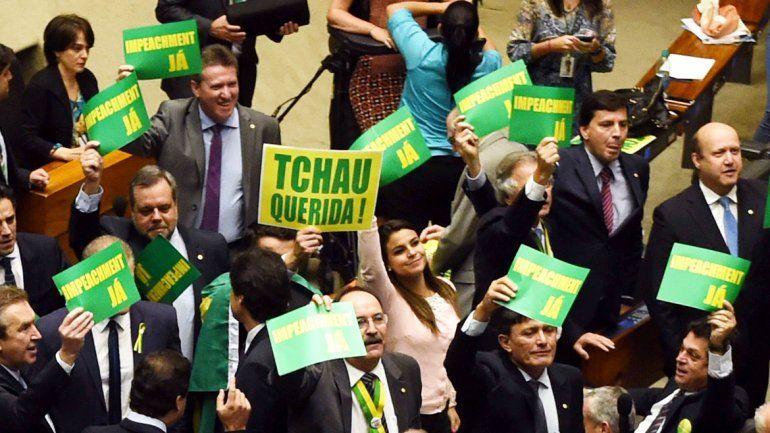 Diputados de la oposición