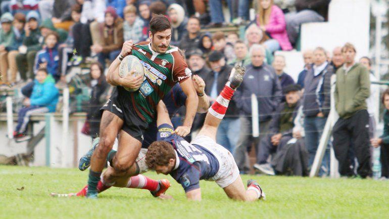 Neuquén Rugby perdió frente a Mar del Plata 15-7 por el TDI.