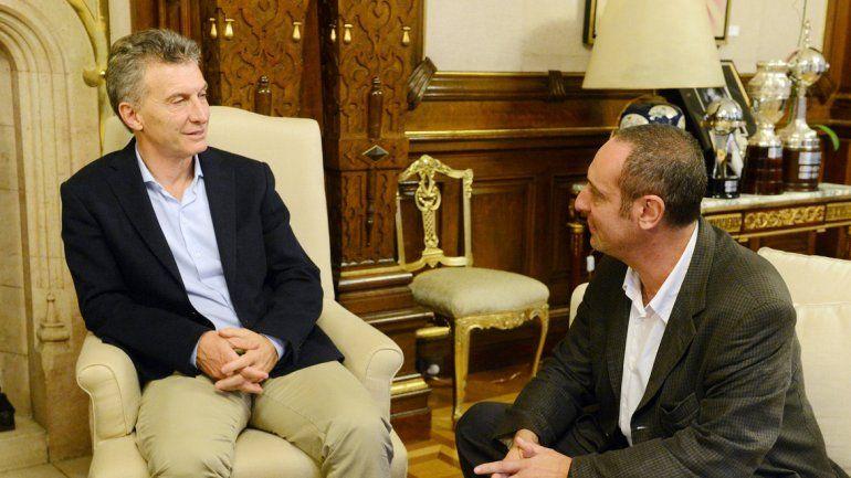 Mauricio Macri habló de la agenda que interesa a Neuquén. El Presidente recibió en la Casa Rosada a un grupo de periodistas de diarios del interior del país