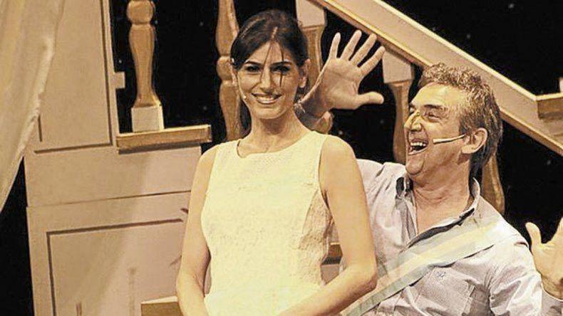 Cecilia Milone realizó una sátira de Juliana Awada en Segunda vuelta.