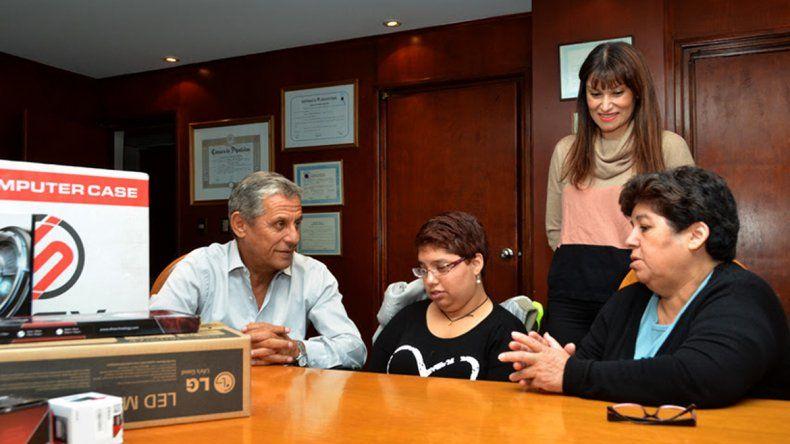 Marina había pedido la donación a través de una carta.