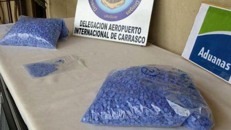 Detienen a un belga que venía con 21 mil pastillas Superman a Argentina