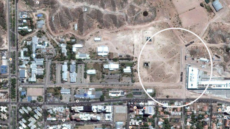 Pechi pidió que la UNCo ceda tierras para abrir más calles