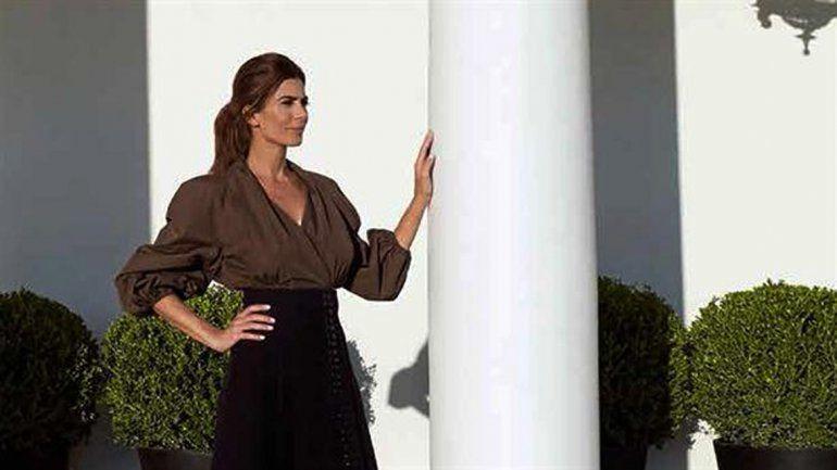 Juliana Awada posó para Vogue España.