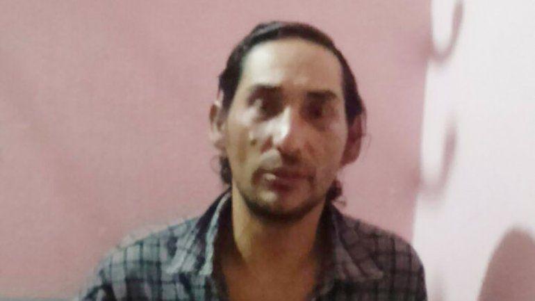 Méndez ayer al ser detenido.