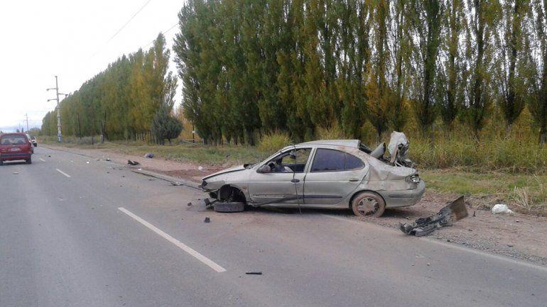 Tragedia en Villa Manzano: petrolero murió al perder el control y volcar sobre la ruta 69