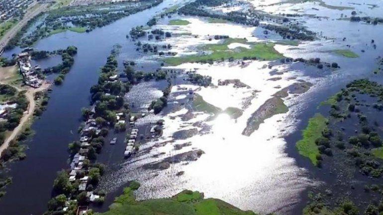 Las lluvias no dan respiro y el Litoral sigue bajo agua