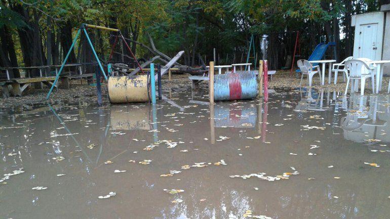 Se inundó la reserva faunística Luan.