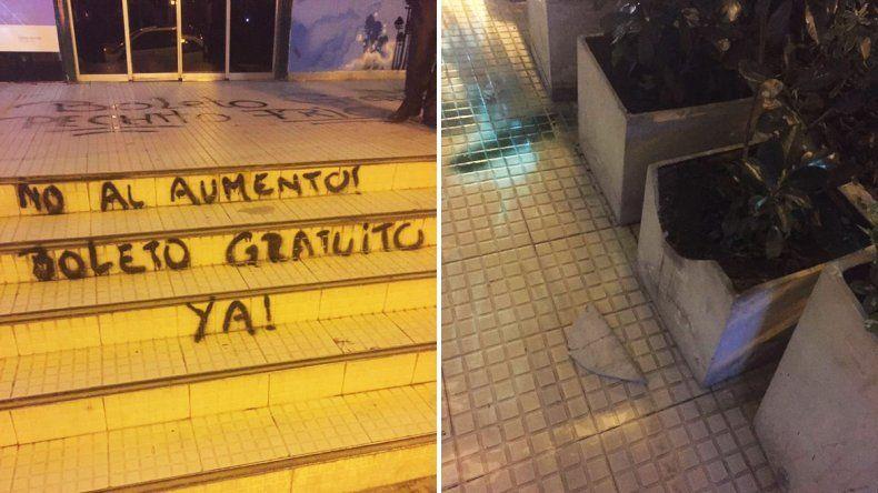 Desde el Municipio critican a los estudiantes que se manifestaron ayer