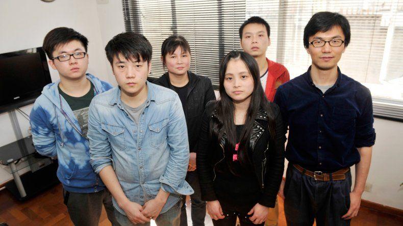 Jóvenes chinos