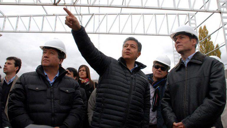 Gutiérrez recorrió distintas obras en Chos Malal