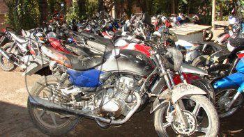 lucha contra motochorros: secuestraron 45 motos